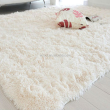 Super soft shaggy microfiber polyester peru alpaca fur rug