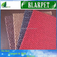 Super quality branded needle punched back car foot carpet