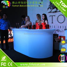 colorful Lighted checkout counter cashier desk BCR-862T