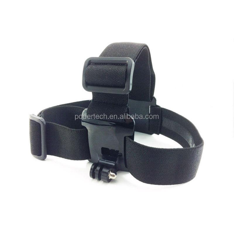Go pro head strap mount