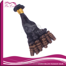 Newness funmi hair extension,wholesale brazilian human hair,2015 virgin brazilian hair funmi hair bouncy curl