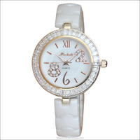Vogue quartz ceramic watch,vogue watch
