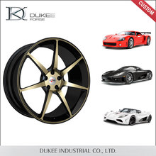 High end custom competitive price forged aluminum car/truck wheel
