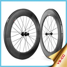 2015 Yishunbike high quality 700C 88mm clincher 2015CC-88C-W carbon bicycle wheels