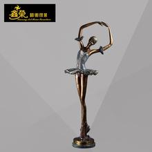 fábrica venta calidad bronce figurita de bailarín de ballet figura de bailarina en bronce