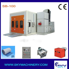 CE approved 2014 hot sale product oven car paint used spray booth powder coating oven for sale