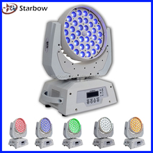 5 in 1 led wash led moving head dmx 36x10w rgbw led zoom moving head