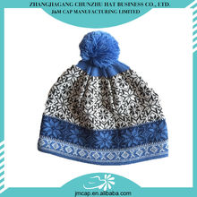 Produced by professional factory comfortable and soft knitted hats for men