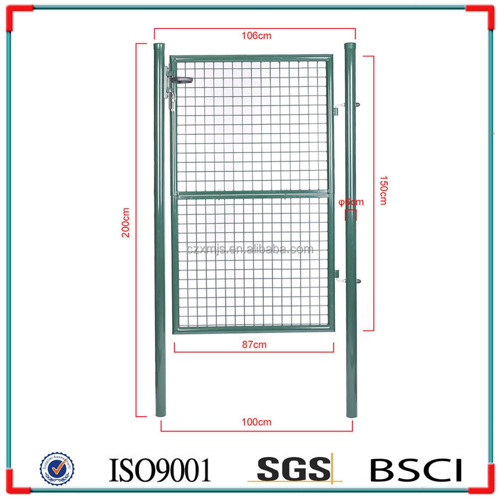 Galvanized wire mesh metal garden gates buy