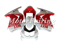 Ninja250R Fairings Kit for KAWASAKI Ninja 250R EX 250 2008 2009 2010 2011 EX250 08 09 10 11 white red