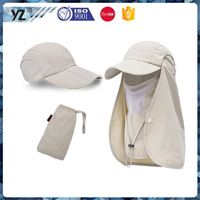 New arrival top quality fold n' go outdoor hat for wholesale