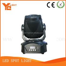 Spot led lighting 75,90w led moving head spot light wonderful color,2 gobo wheel