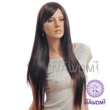 0014 NAWOMI cheap Fashionable smooth new natural curl human hair half wig
