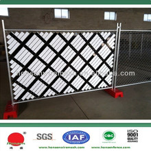 Hot sale China made diamond mesh portable fence