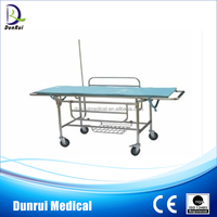 DR-202 FDA/CE/ISO Approved Stainless Steel Medical Transport Stretcher