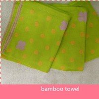 high quality wholesale bamboo hand towel