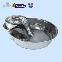 2015 Alibaba hot dog automatic stainless steel fountain, Pet fountain, Christmas gift