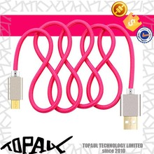 Hot sale 1m 2m 3m fast charging usb cable for iphone 5 6
