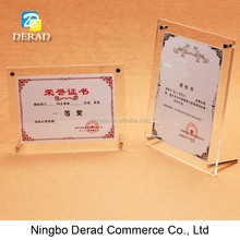 Clear Lovely Acrylic Frames Photo Frame for Cars, Hotel, Hosipital, School, Supermarket