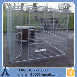 2015 Unique pretty comfortable powder coating galvanized large outdoor new design high quality pet houses/dog kennels/dog cages