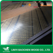 18mm plywood marine/China film covered laminated faced plywood for construction/concrete formwork