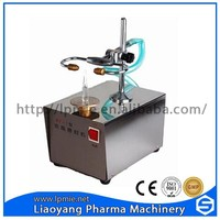 Table top machine small glass ampoule sealing machine