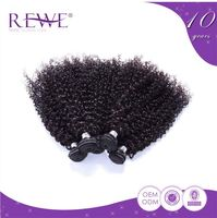 Personalized Oem Colour Lasting Long Kinky Curly Human Hair Bulk Weave