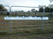 Fence factory hot sale Hot-dipped galvanized farm livestock corral fence/cattle/horse/sheep panel fence