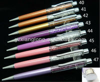 Colorful rhinestone pen for wedding gift/birthday gift