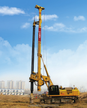 The Efficient Piling Driving Machine of CSR TR280DI Rotary dril rig