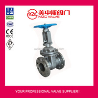JIS 10K Flanged Stainless Steel Gate Valves Industrial Valves