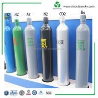 GB5099 232mm 50L 20MPa Steel Helium Gas Cylinder Manufacturer