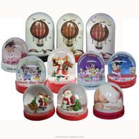 plastic photo frame snow globe in Dongguan