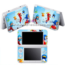 Hot Selling Vinyl Skin Sticker for Nintendo 3ds xl for dsi xl for 3ds with Mario Designs