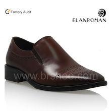 2013 zapatos de cuero de alta calidad para hombres