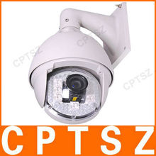 H.264 PNP PTZ camera with POE, 18x optical zoom and 120m night vision, Android iPhone remote control/view