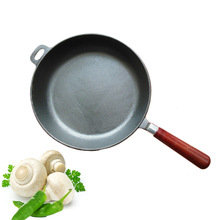 Export cast iron pot cast iron frying pan flat-bottomed frying pan and sick uncoated nonstick pan no fumes
