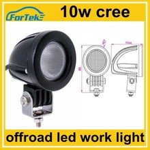 mouse like mini led work light cree 10w for motocycle, car fog lamp