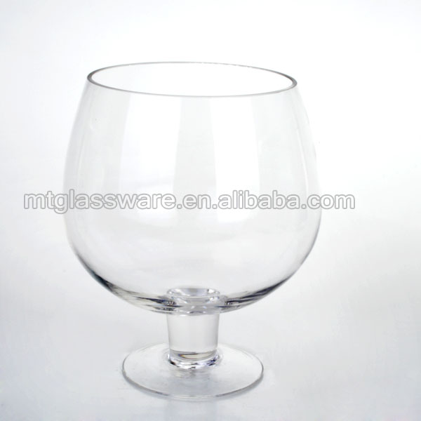 2015 New Fda Sgs Handmade Giant Wine Glass Salad Bowllarge Brandy