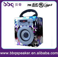 Portable Special Feature and Active Type USB / MP3/MP4 Speaker