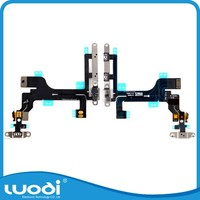 Mobile Phone Power Button Volume Flex Cable for iPhone 5C
