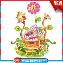 New china products for sale kid toy flowers wood wooden chicken house