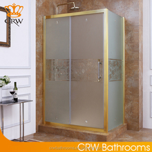 CRW FS1101 Luxury Sliding Bath Cabin Frosted Glass