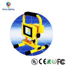 High Quality Outdoor Portable Led Flood Light 10w 20w 30w 50w Rechargeable Floodlight, Rechargeable Emergency Led Spot Light