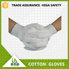 long pvc dotted cotton safety gloves