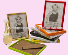 5x7 inch Excellent PVC/Plastic photo frames with E1 degree MDF backboard
