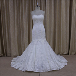 Royal mermaid short tail 2014 stunning wedding dresses