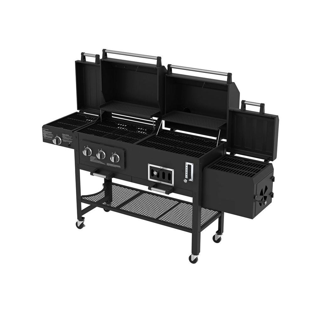 Gas And Charcoal Grill Combination Grills Html Autos Weblog