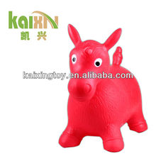 2015 Colorful PVC Inflatable Jumping Horse