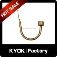 KYOK Hard plating iron curtain hook, adjustable metal curtain hooks, hotel window curtain decorative accessories